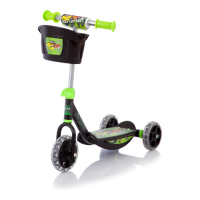 Самокат Baby Care Wheel Scooter
